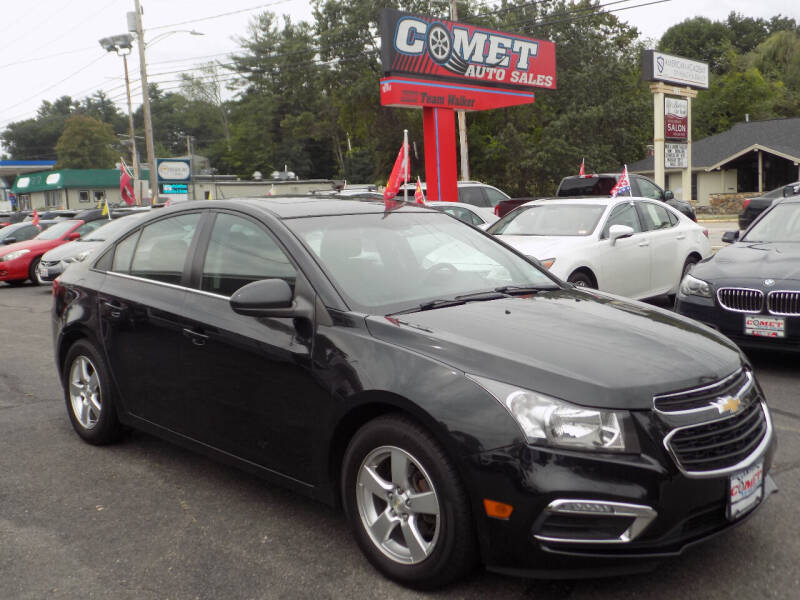 2016 Chevrolet Cruze Limited for sale at Comet Auto Sales in Manchester NH