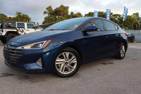 2020 Hyundai Elantra for sale at OCEAN AUTO SALES in Miami FL