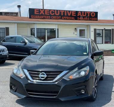 2016 Nissan Altima for sale at Executive Auto in Winchester VA