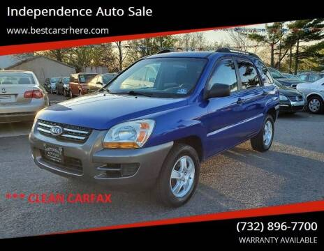 2006 Kia Sportage for sale at Independence Auto Sale in Bordentown NJ