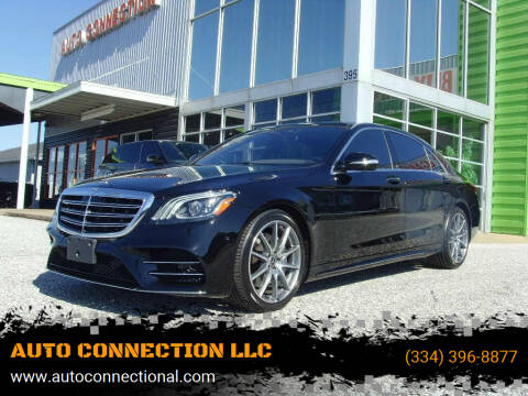 2018 Mercedes-Benz S-Class for sale at AUTO CONNECTION LLC in Montgomery AL