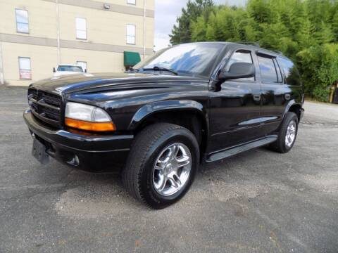 2003 Dodge Durango for sale at S.S. Motors LLC in Dallas GA