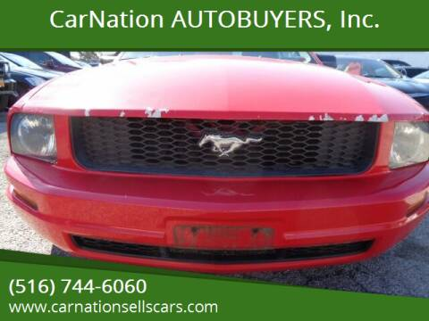 2005 Ford Mustang for sale at CarNation AUTOBUYERS, Inc. in Rockville Centre NY