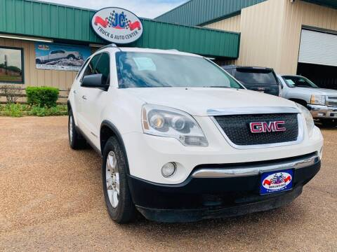 2008 GMC Acadia for sale at JC Truck and Auto Center in Nacogdoches TX