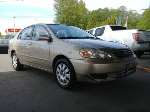 2004 Toyota Corolla for sale at Low Auto Sales in Sedro Woolley WA