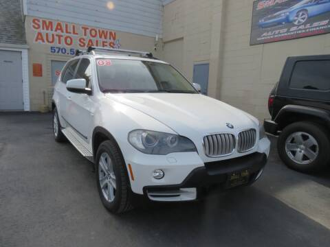 2008 BMW X5 for sale at Small Town Auto Sales in Hazleton PA