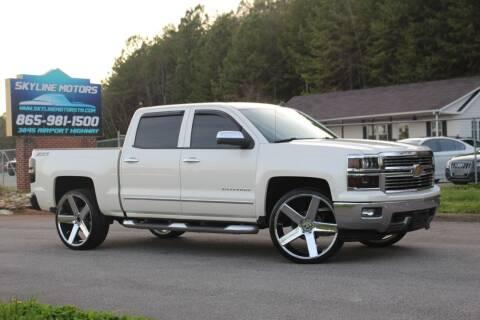 2014 Chevrolet Silverado 1500 for sale at Skyline Motors in Louisville TN