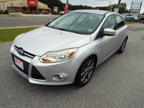 2013 Ford Focus for sale at USA 1 Autos in Smithfield VA