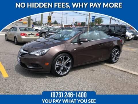 2016 Buick Cascada for sale at Route 46 Auto Sales Inc in Lodi NJ