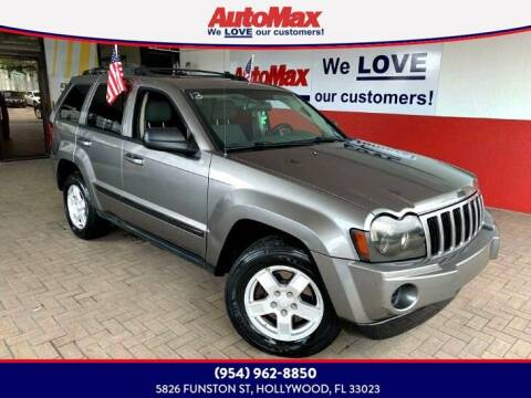 2007 Jeep Grand Cherokee for sale at Auto Max in Hollywood FL