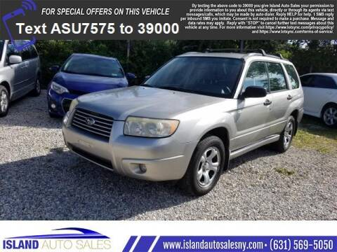 2007 Subaru Forester for sale at Island Auto Sales in E.Patchogue NY