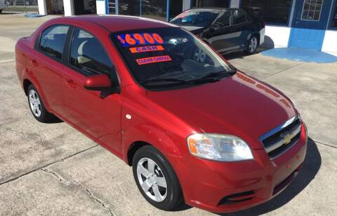2008 Chevrolet Aveo for sale at Moye's Auto Sales Inc. in Leesburg FL