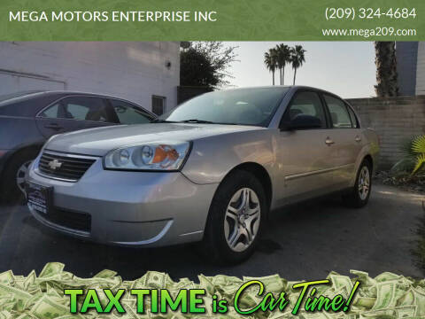 2007 Chevrolet Malibu for sale at MEGA MOTORS ENTERPRISE INC in Modesto CA