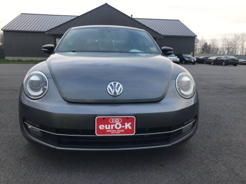 2012 Volkswagen Beetle for sale at eurO-K in Benton ME