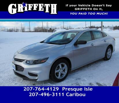 2017 Chevrolet Malibu for sale at Griffeth Mitsubishi - Pre-owned in Caribou ME
