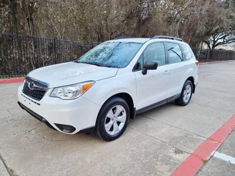 2016 Subaru Forester for sale at DFW Autohaus in Dallas TX