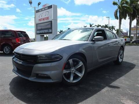 2018 Dodge Charger for sale at Automotive Credit Union Services in West Palm Beach FL