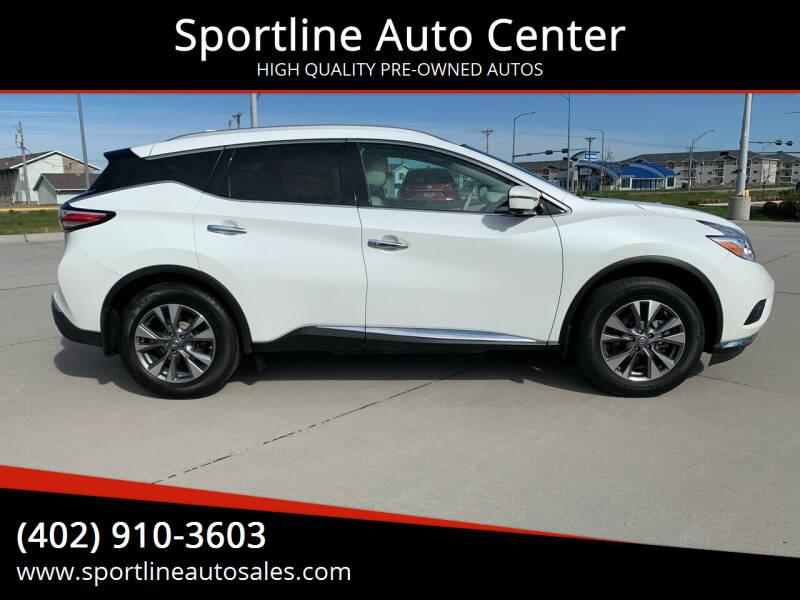 2017 Nissan Murano for sale at Sportline Auto Center in Columbus NE