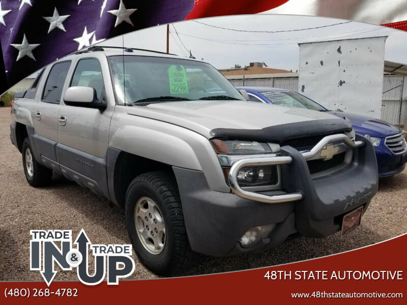 2004 Chevrolet Avalanche for sale at 48TH STATE AUTOMOTIVE in Mesa AZ
