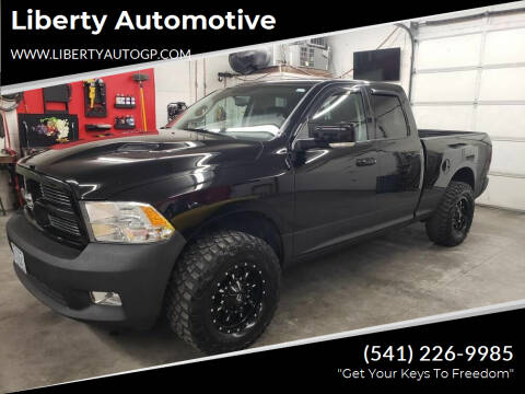2012 RAM Ram Pickup 1500 for sale at Liberty Automotive in Grants Pass OR