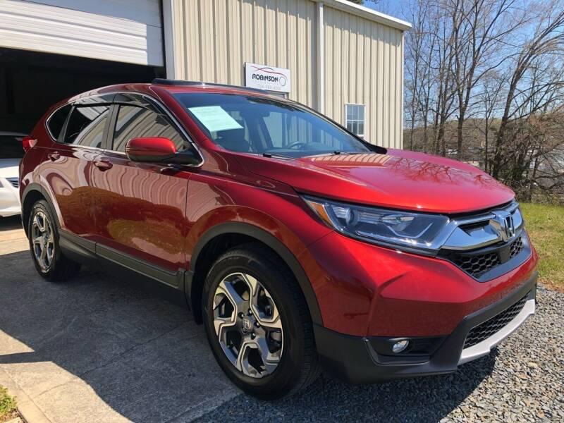 2018 Honda CR-V for sale at Robinson Automotive in Albemarle NC