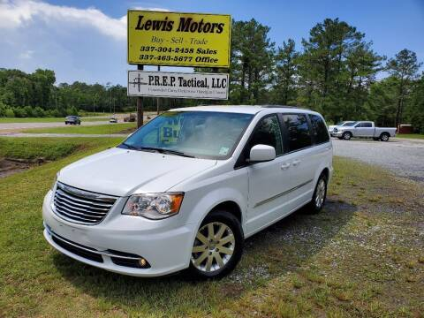 2016 Chrysler Town and Country for sale at Lewis Motors LLC in Deridder LA