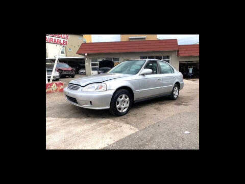 1999 Honda Civic for sale at ELITE MOTOR CARS OF MIAMI in Miami FL