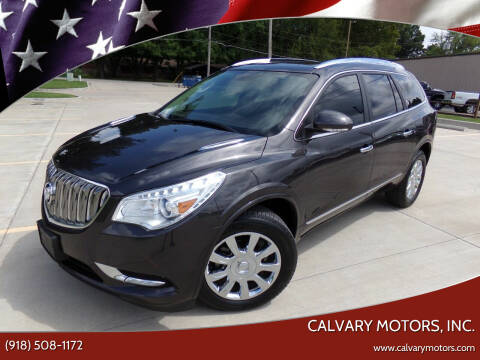 2016 Buick Enclave for sale at Calvary Motors, Inc. in Bixby OK