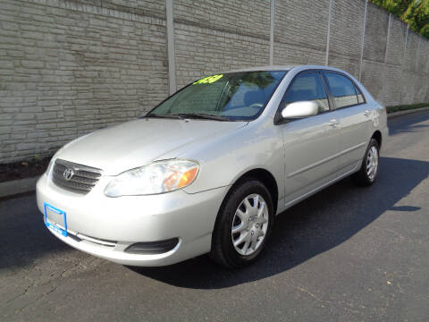 2005 Toyota Corolla for sale at Matthews Motors LLC in Algona WA