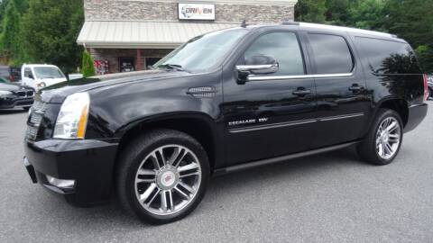 2012 Cadillac Escalade ESV for sale at Driven Pre-Owned in Lenoir NC