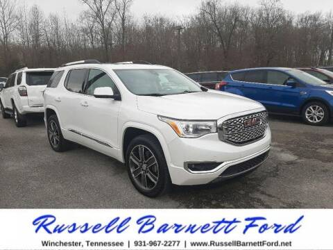 2018 GMC Acadia for sale at Oskar  Sells Cars in Winchester TN