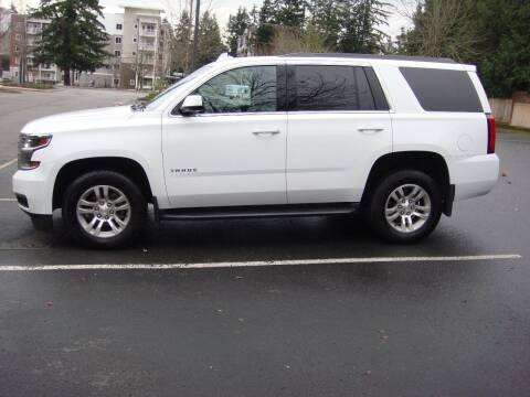 2016 Chevrolet Tahoe for sale at Western Auto Brokers in Lynnwood WA