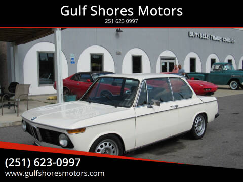 1974 BMW TII 2002 for sale at Gulf Shores Motors in Gulf Shores AL