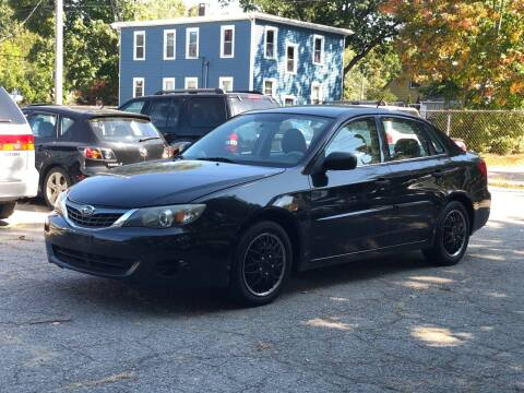 2008 Subaru Impreza for sale at Emory Street Auto Sales and Service in Attleboro MA