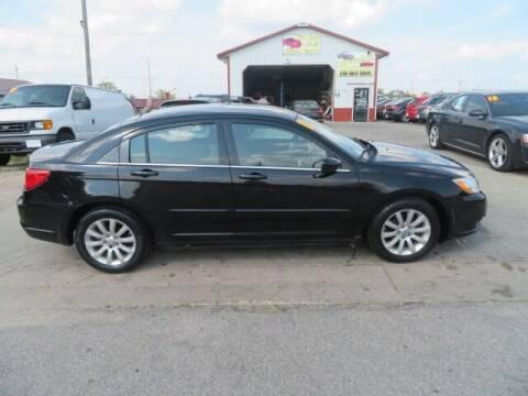 2011 Chrysler 200 for sale at Jefferson St Motors in Waterloo IA