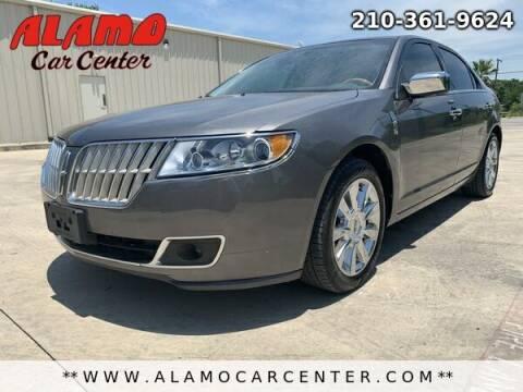2012 Lincoln MKZ for sale at Alamo Car Center in San Antonio TX