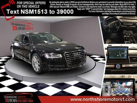 2015 Audi A8 L for sale at Sunrise Auto Outlet in Amityville NY