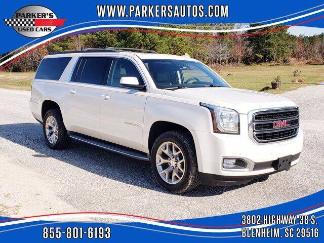 2015 GMC Yukon XL for sale at Parker's Used Cars in Blenheim SC