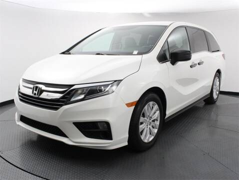 2019 Honda Odyssey for sale at Florida Fine Cars - West Palm Beach in West Palm Beach FL