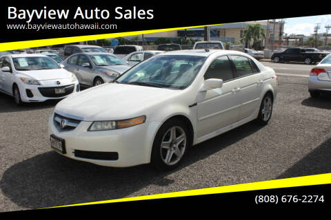 2005 Acura TL for sale at Bayview Auto Sales in Waipahu HI