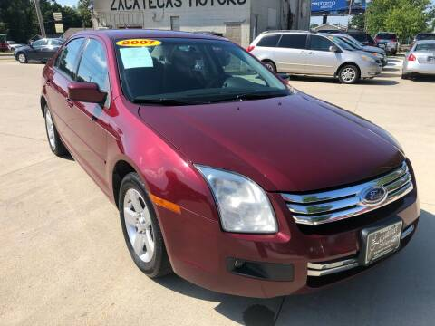 2007 Ford Fusion for sale at Zacatecas Motors Corp in Des Moines IA