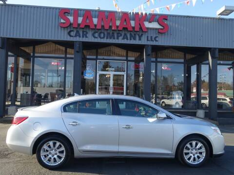 2012 Buick LaCrosse for sale at Siamak's Car Company llc in Salem OR