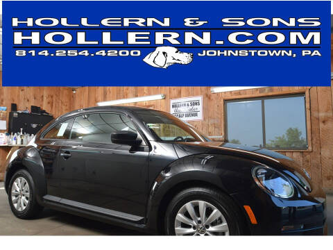 2016 Volkswagen Beetle for sale at Hollern & Sons Auto Sales in Johnstown PA