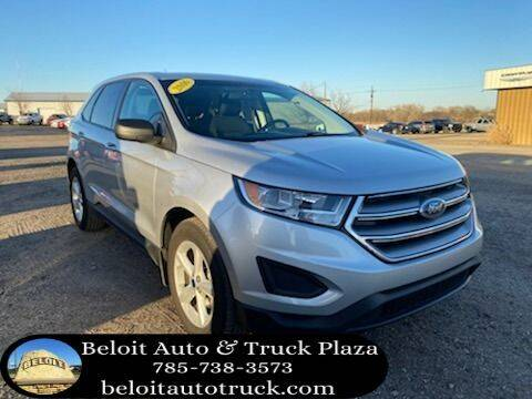 2016 Ford Edge for sale at BELOIT AUTO & TRUCK PLAZA INC in Beloit KS