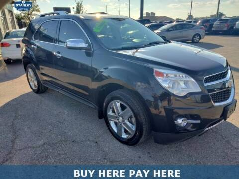 2015 Chevrolet Equinox for sale at Stanley Direct Auto in Mesquite TX