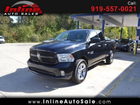 2013 RAM Ram Pickup 1500 for sale at Inline Auto Sales in Fuquay Varina NC