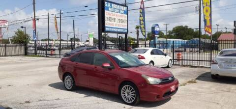 2011 Ford Focus for sale at S.A. BROADWAY MOTORS INC in San Antonio TX