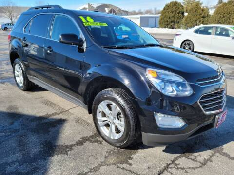 2016 Chevrolet Equinox for sale at Cooley Auto Sales in North Liberty IA
