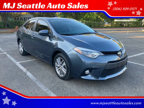 2014 Toyota Corolla for sale at MJ Seattle Auto Sales in Kent WA