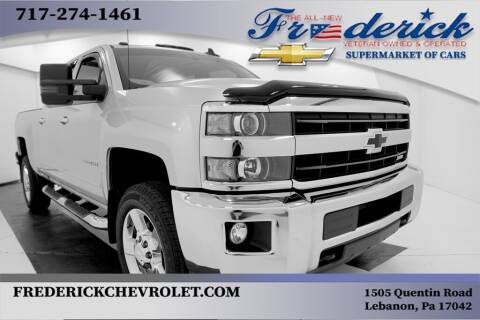 2018 Chevrolet Silverado 2500HD for sale at Lancaster Pre-Owned in Lancaster PA